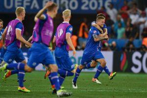 Islandia, por su parte, está protagonizando la gran sorpresa del torneo y eliminó a Inglaterra Foto:Getty Images. Imagen Por: