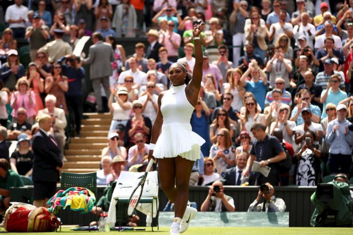 La campeona pidió que cambiaran el diseño de la prenda Foto:Getty Images. Imagen Por: