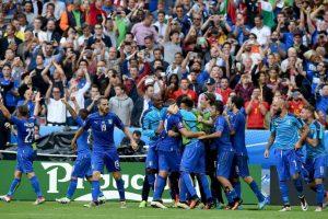 Italia ha sido una de las selecciones más sólidas. Luego de vencer su grupo, en octavos de final venció al actual monarca España Foto:Getty Images. Imagen Por: