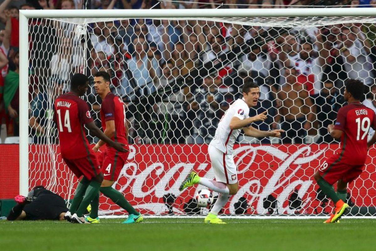 El polaco marcó el segundo gol más rápido en la historia del torneo Foto:Getty Images. Imagen Por: