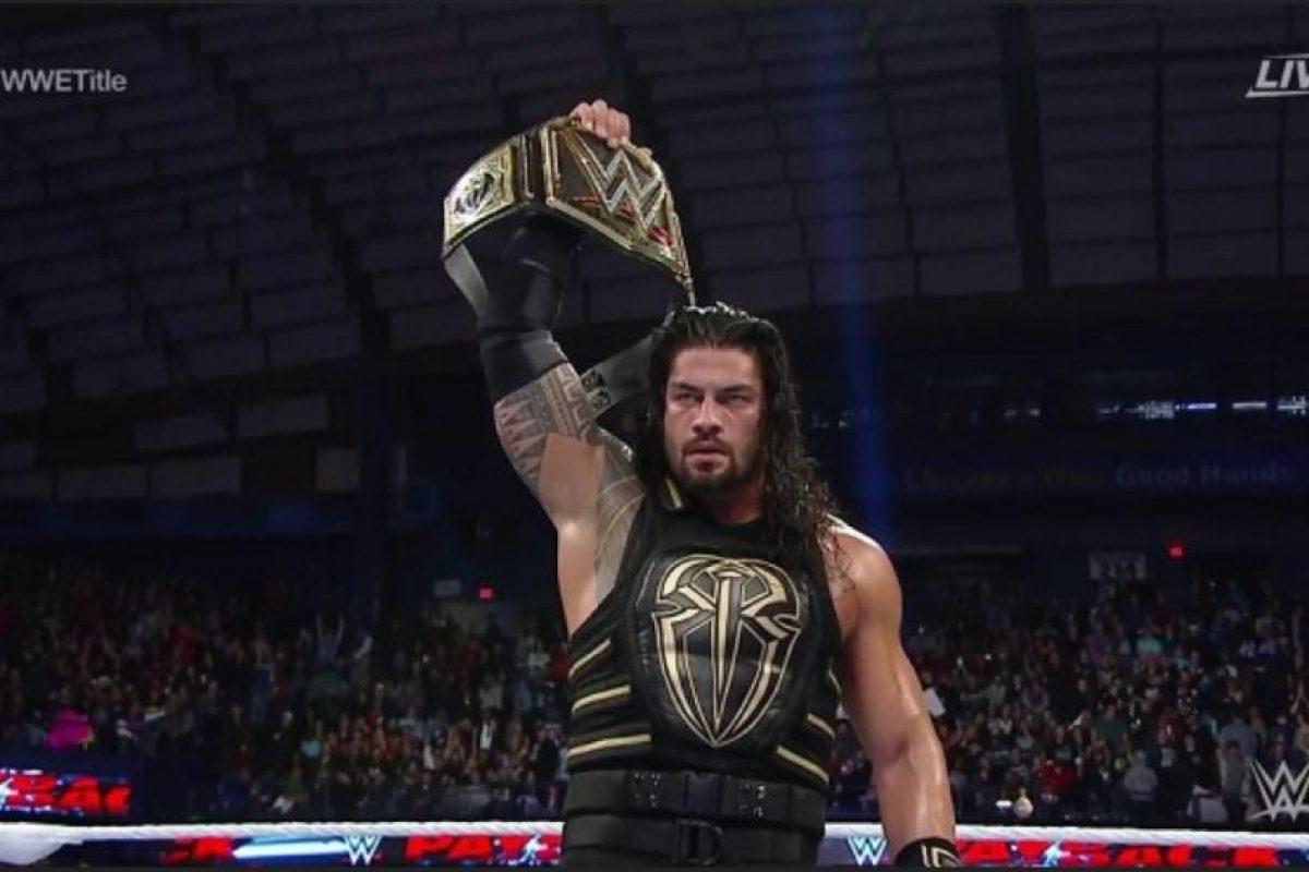 Roman Reigns recibió una suspensión de 30 días Foto:WWE. Imagen Por: