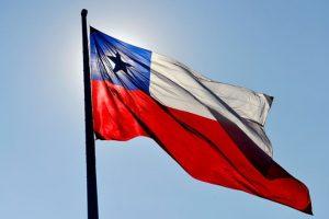 La bandera chilena Foto:Agencia UNO. Imagen Por: