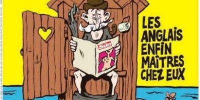 La revista satírica Charlie Hebdo da su veredicto sobre el Brexit en su portada de hoy