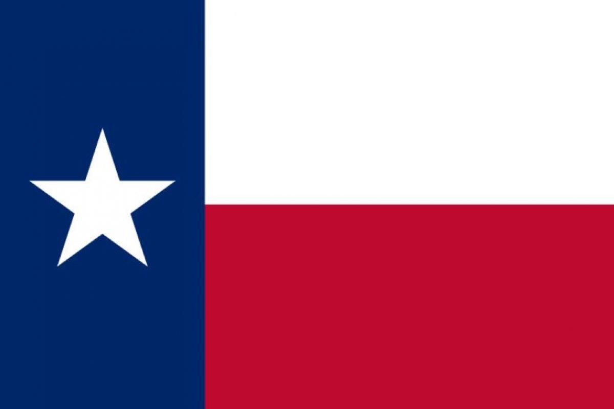 Bandera de Texas Foto:Reproducción. Imagen Por: