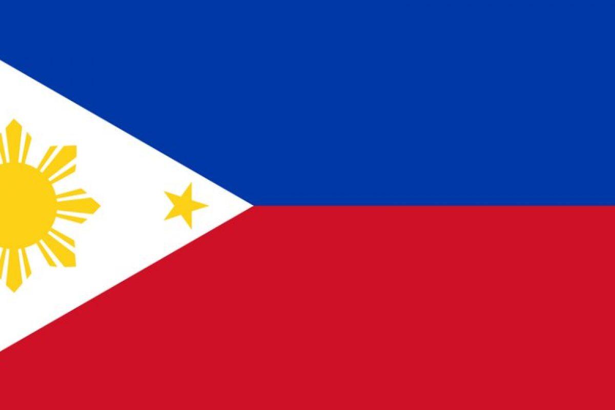 Bandera de Filipinas Foto:Reproducción. Imagen Por: