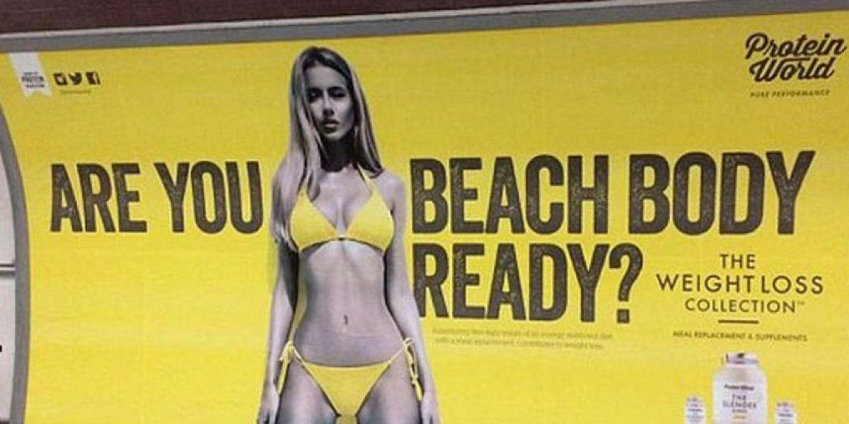 Londres prohibe publicidad de cuerpos muy delgados o musculosos