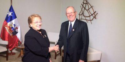 Bachelet y Kuczynski sostienen primera reunión para reforzar acercamiento bilateral