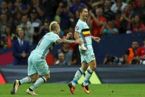 Bélgica viene de golear por 4 a 0 a Hungría y revalidó su chapa de candidato en la Eurocopa Foto:Getty Images. Imagen Por: