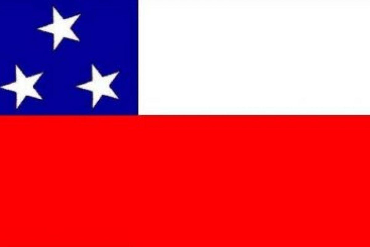 Bandera del Ejército Libertador de Perú Foto:Reproducción. Imagen Por: