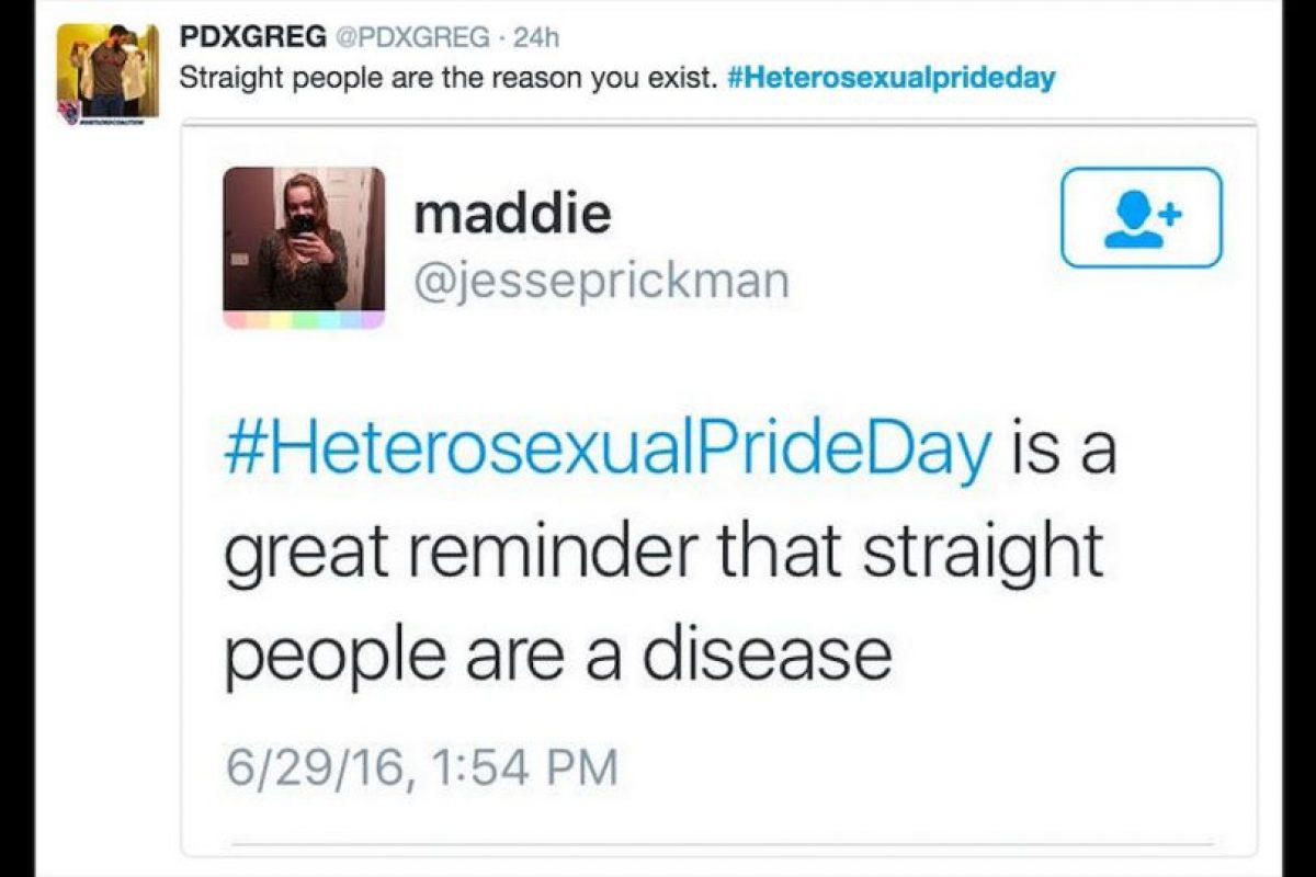 A raíz de que en junio se celebra el mes del orgullo gay en todo el mundo. Foto:Reproducción Twitter. Imagen Por: