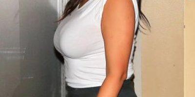Descubren extraños ¿rellenos? en trasero de Kim Kardashian