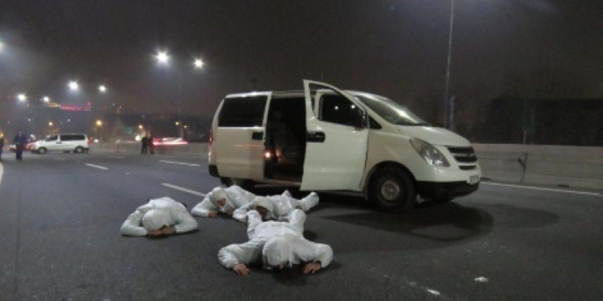 Reconstituyen escena por muerte de dos técnicos de Canal 13 y un conscripto