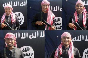 Los autores del ataque al restorán de Dacca. Foto:Reproduccion Amaq. Imagen Por: