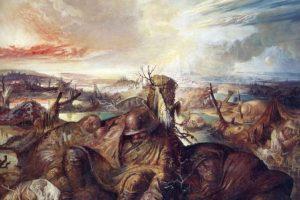 Flanders, del pintor alemán Otto Dix, presente en la batalla del Somme. Foto:otropasoatodaspartes@blogspot.com. Imagen Por:
