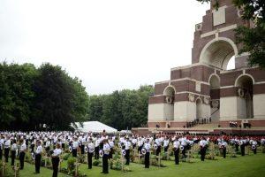 Franceses y británicos conmemoran los 100 años de la batalla del Somme, considerada la más sangrienta de la Primera Guerra Mundial. Foto:AFP. Imagen Por: