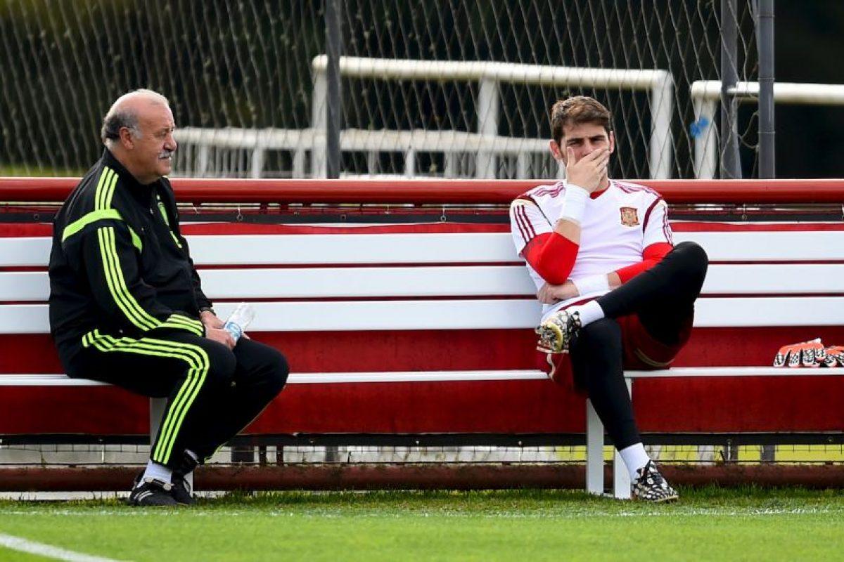 Casillas pensaba que podría jugar ese partido, pero Del Bosque lo dejó en la banca Foto:Getty Images. Imagen Por:
