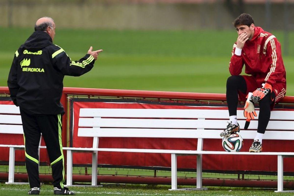 Los problemas entre Iker Casillas y Vicente del Bosque comenzaron en Burdeos Foto:Getty Images. Imagen Por: