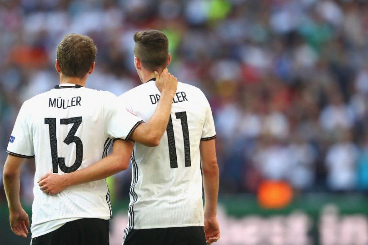 Alemania, por su parte, goleó por 4 a 0 a Hungría y avanzó a la ronda de los ocho mejores Foto:Getty Images. Imagen Por: