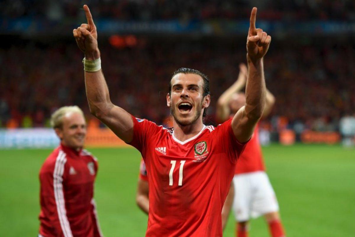 Gareth Bale encontró su mejor forma con su selección y es uno de los mejores jugadores del torneo Foto:Getty Images. Imagen Por: