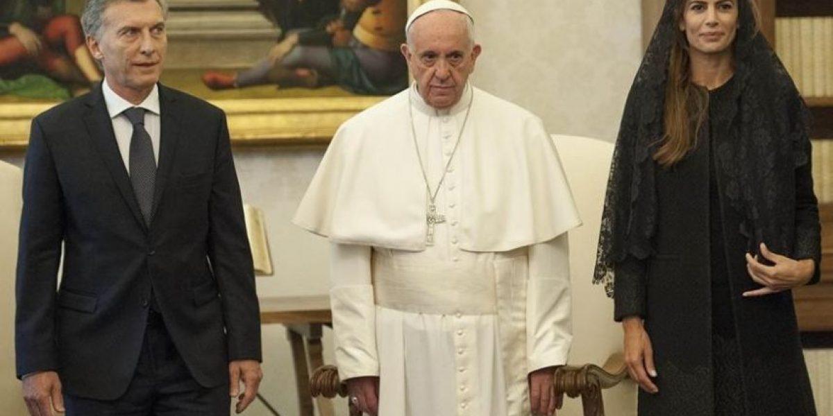 Papa Francisco niega distancimiento con presidente Macri: