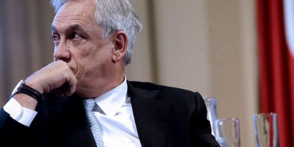 Piñera critica al gobierno: