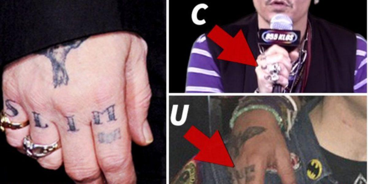 Fotos: Johnny Depp cambia los tatuajes dedicados a su ex Amber Heard