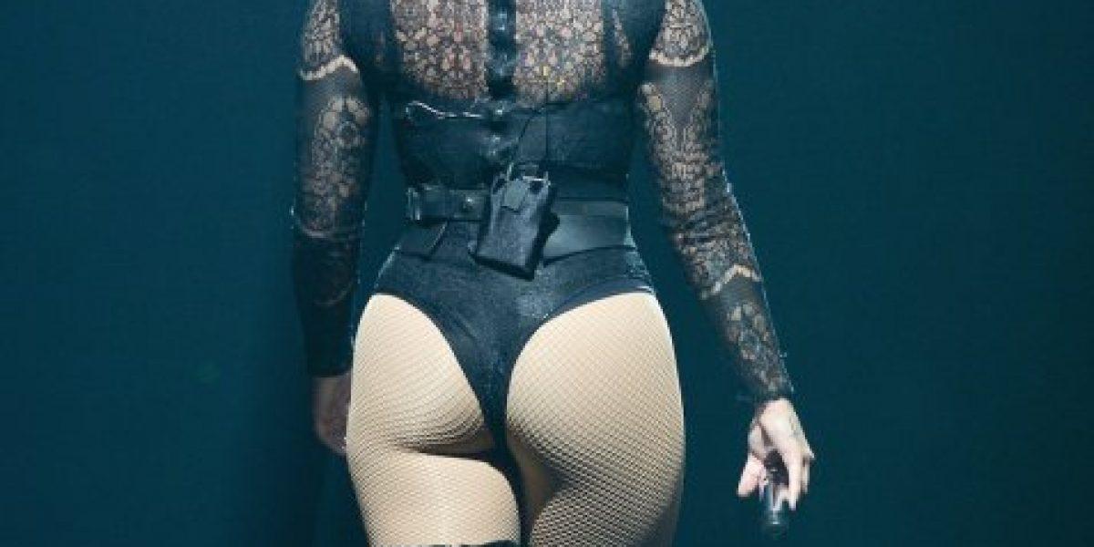 Demi Lovato mostró derrière en su último show