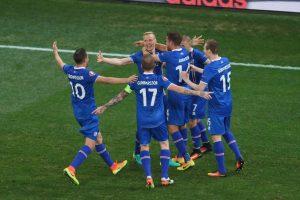 Sin embargo, Islandia ha tenido un gran torneo y sorprendieron a todos eliminando a Inglaterra en octavos de final Foto:Getty Images. Imagen Por: