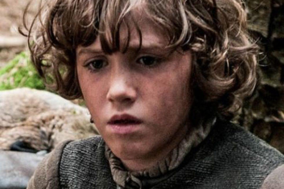 Rickon Stark en la temporada 1 Foto:Vía HBO. Imagen Por: