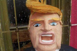 Así luce la piñata de Donald Trump Foto:Vía Facebook/Piñatería Ramírez. Imagen Por: