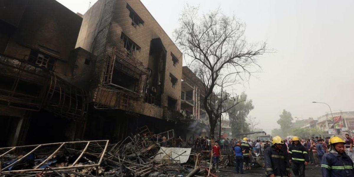 Más de 200 muertos dejó el atentado explosivo del Estado Islámico en Bagdad