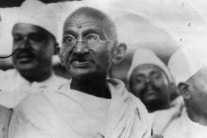 Gandhi: 1,64 centímetros Foto:Getty. Imagen Por: