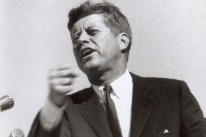 John Kennedy: 1,83 centímetros Foto:Getty. Imagen Por: