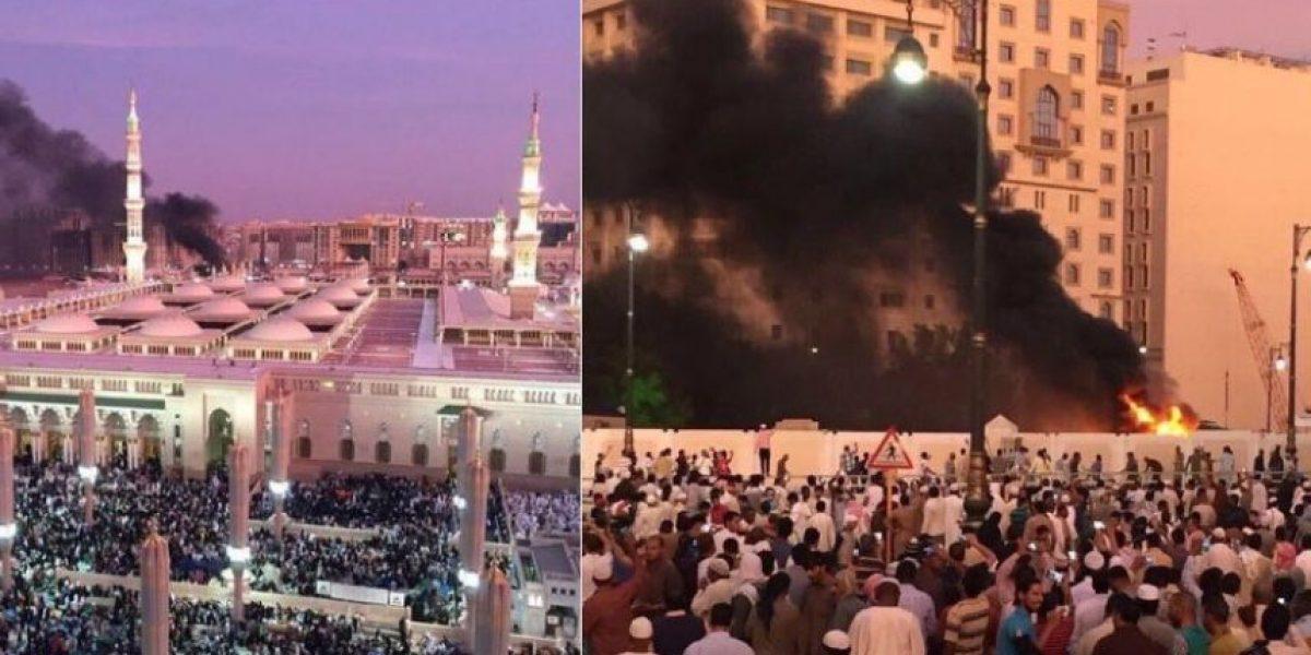 Al menos cuatro policías muertos en cadena de atentados en Arabia Saudí cerca de dos mezquitas