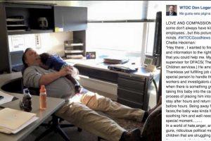 La publicación se convirtió en una de las más leídas en redes sociales Foto:WTOC Don Logana. Imagen Por: