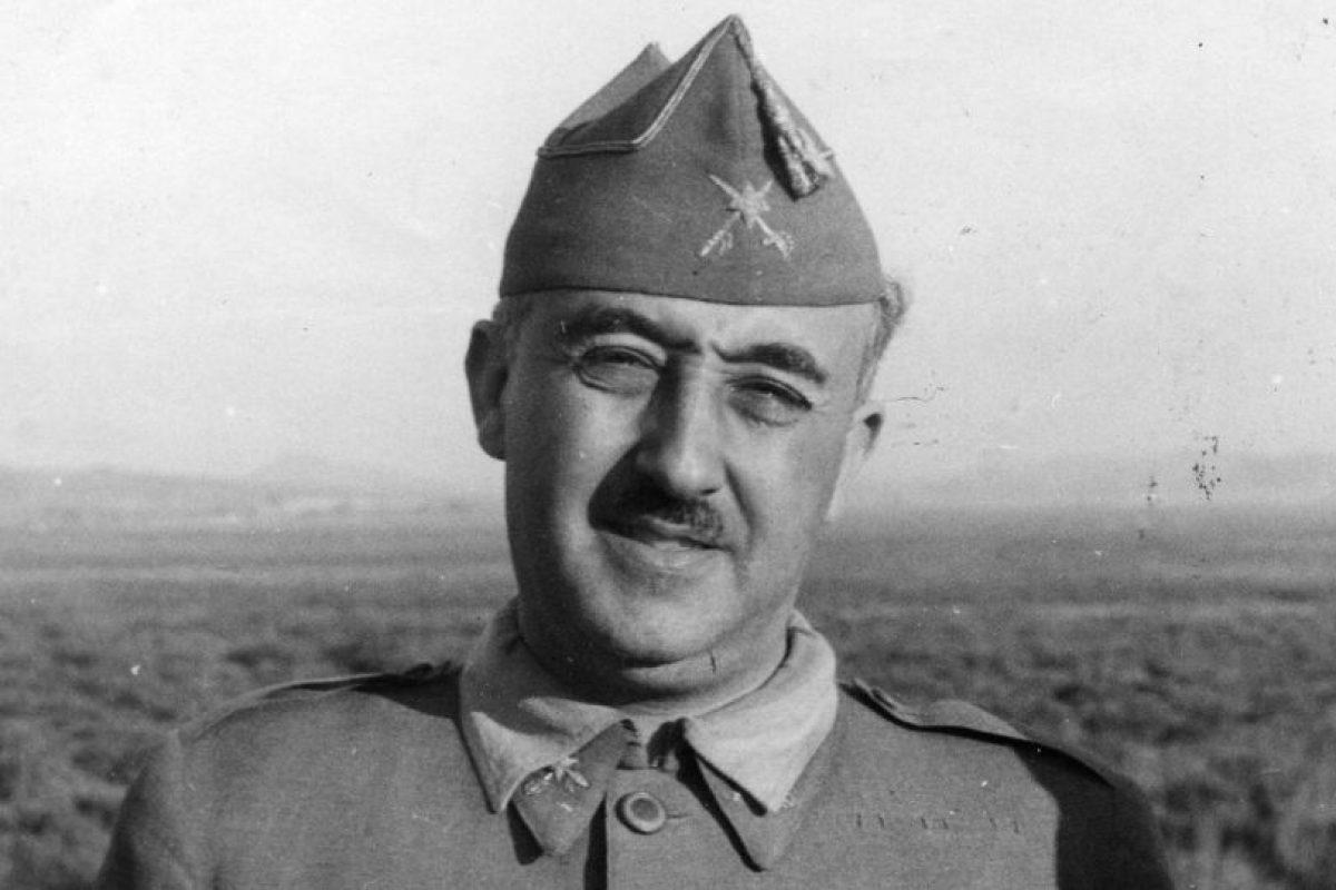 Francisco Franco: 1,63 centímetros Foto:Getty. Imagen Por: