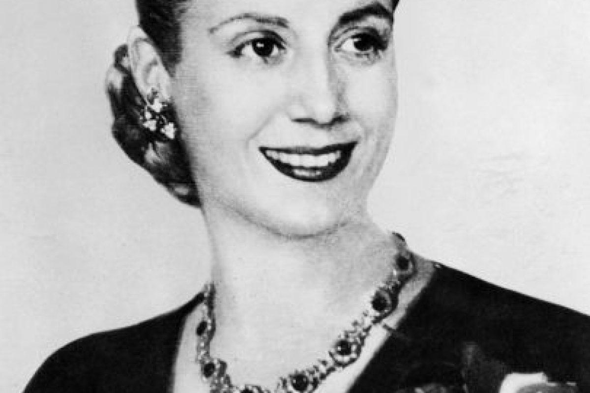 Eva Perón: 1,70 centímetros Foto:Getty. Imagen Por: