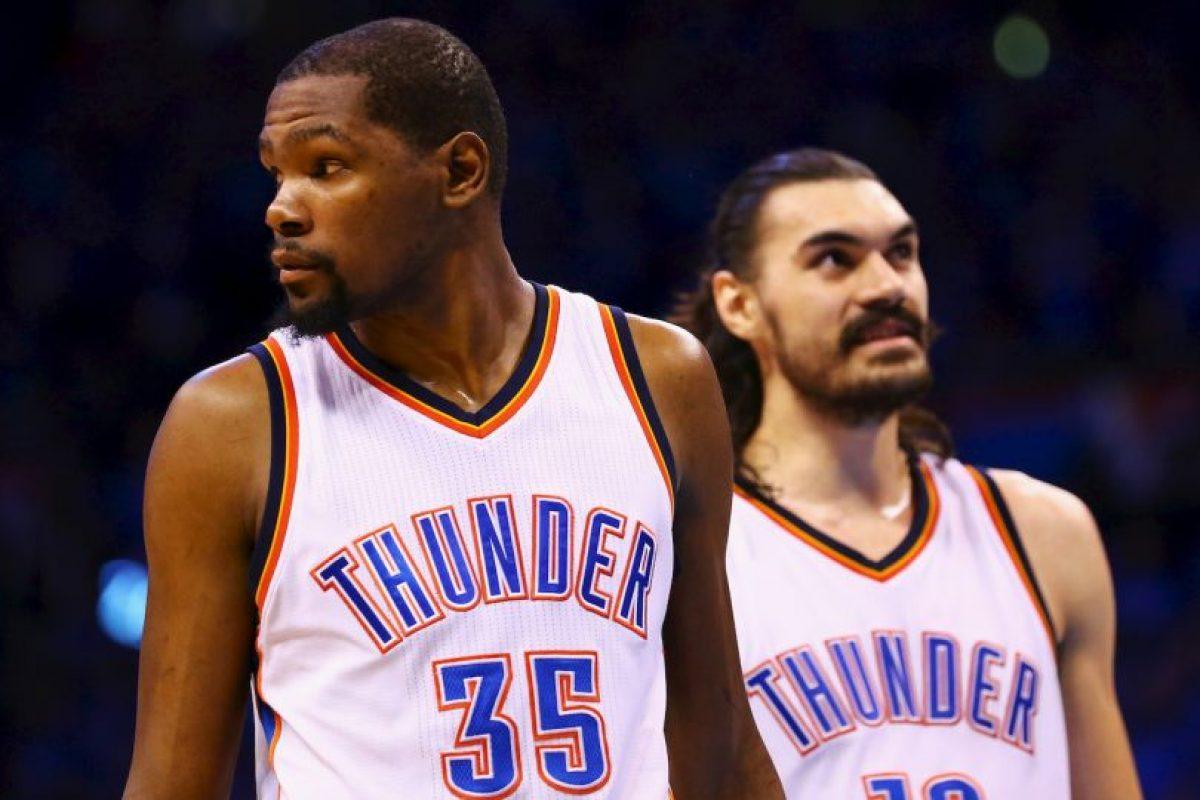 Luego de toda una vida en Oklahoma, Durant dio un giro a su carrera y parte a Golden State Warriors Foto:Getty Images. Imagen Por: