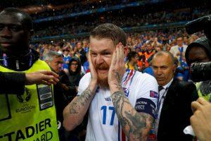 Así se despidió islandia de la Euro 2016 Foto:Getty Images. Imagen Por: