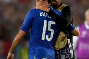 Así también lo entendió Andrea Barzagli, quien tampoco aguantó las lágrimas en plena entrevista Foto:Getty Images. Imagen Por: