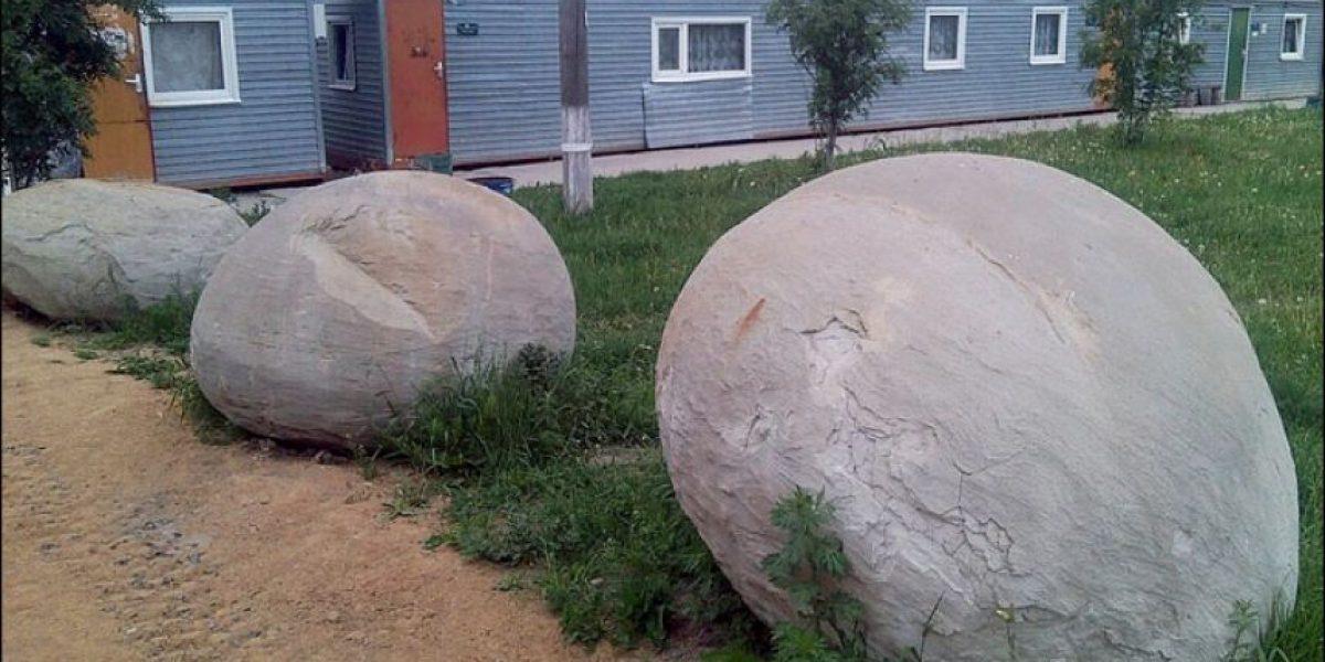 El misterio de gigantescas esferas en Siberia: ¿huevos de dinosaurio o meteoritos?