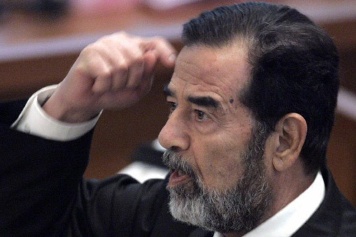 Saddam Hussein: 1,83 centímetros Foto:Getty. Imagen Por: