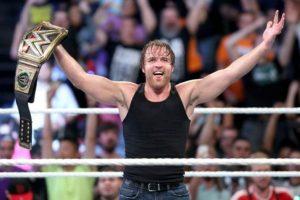 """Dean Ambrose defenderá el Campeonato Mundial de Peso Pesado en """"Battleground"""" Foto:WWE. Imagen Por:"""