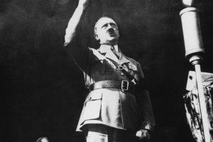 Adolf Hitler: 1,73 centímetros Foto:Getty. Imagen Por: