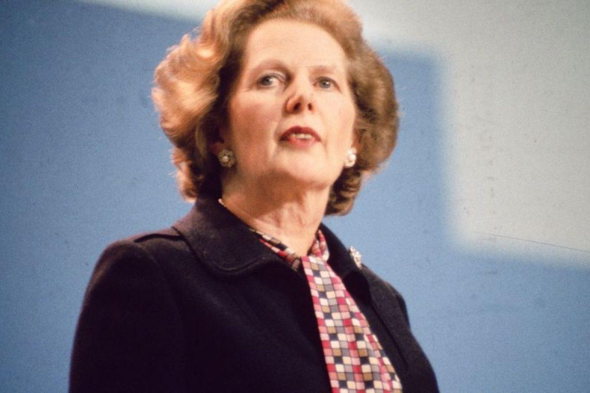 Margaret Thatcher: 1,67 centímetros Foto:Getty. Imagen Por: