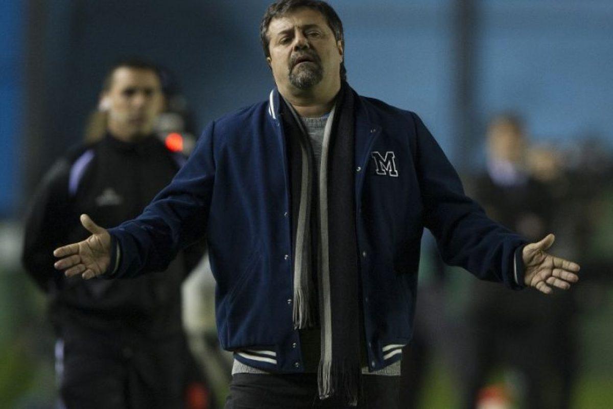 El técnico está actualmente en Sarmiento de Junín Foto:AFP. Imagen Por: