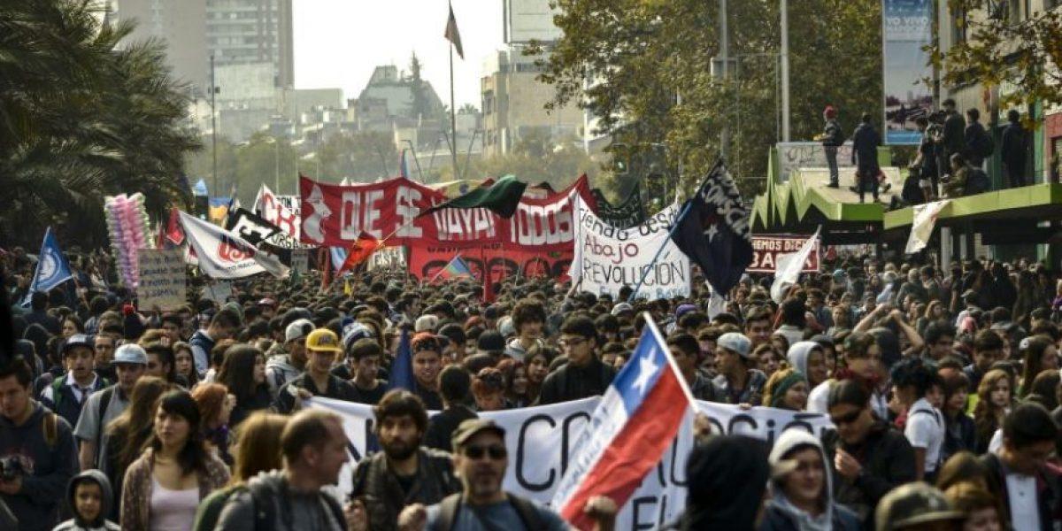 Estudiantes insisten en llamado a marchar pese a negativa de la Intendencia