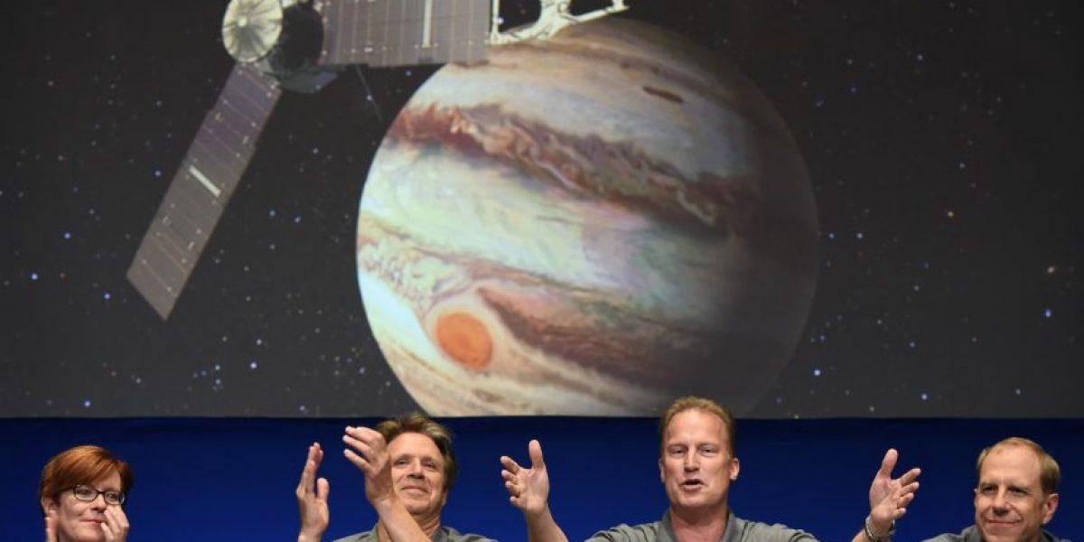 Así se vivió la llegada de la sonda Juno a su esperada cita con Júpiter