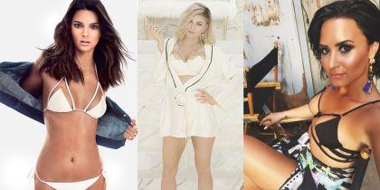 Kendall Jenner, Fergie y Demi Lovato