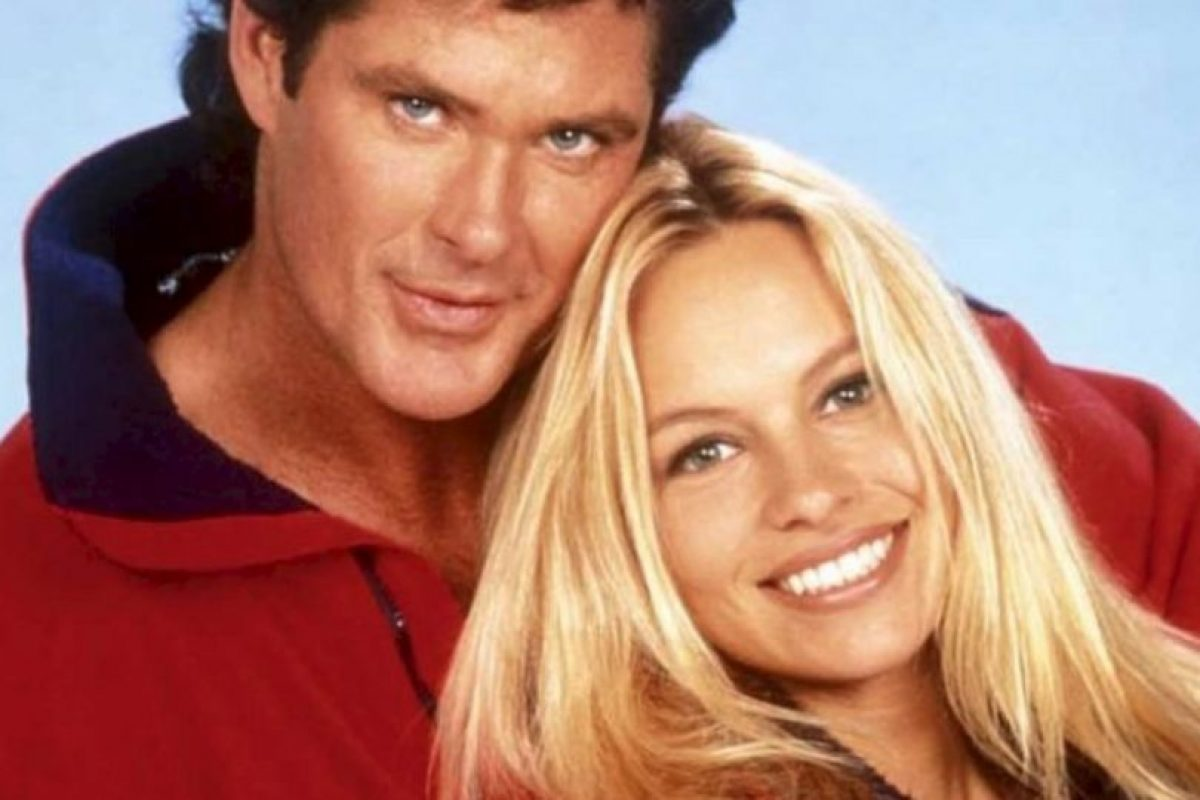 Hasselhoff y Pamela Anderson Foto:Instagram/@Baywatch. Imagen Por: